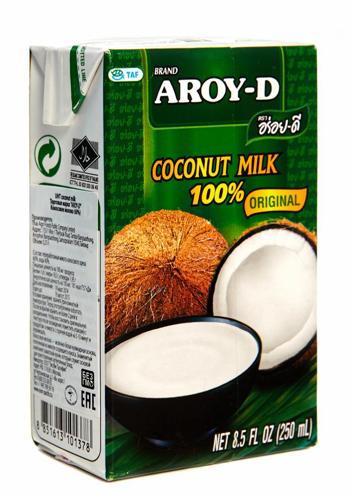 Кокосовое молокоы тайские
