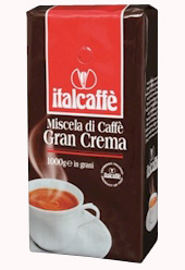 Кофе в зернах ItalCaffe Gran Crema 1кг