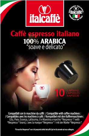 Капсулы Italcaffe Espresso