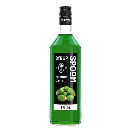 "Сироп Spoom ""Фейхоа"", 1 бутылка -1 литр"